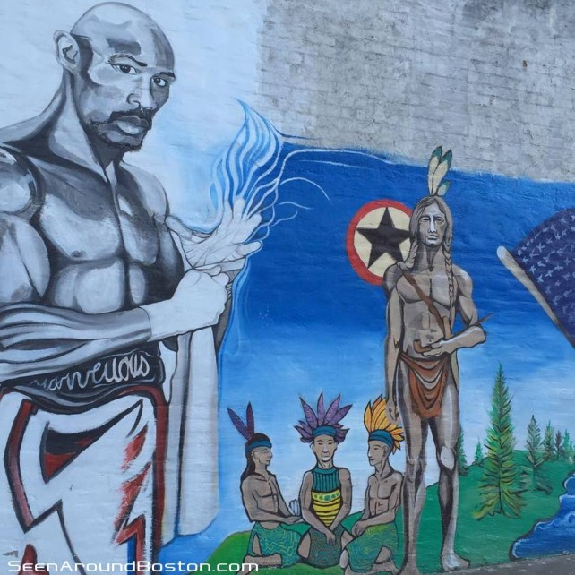 marvin hagler mural brockton massachusetts
