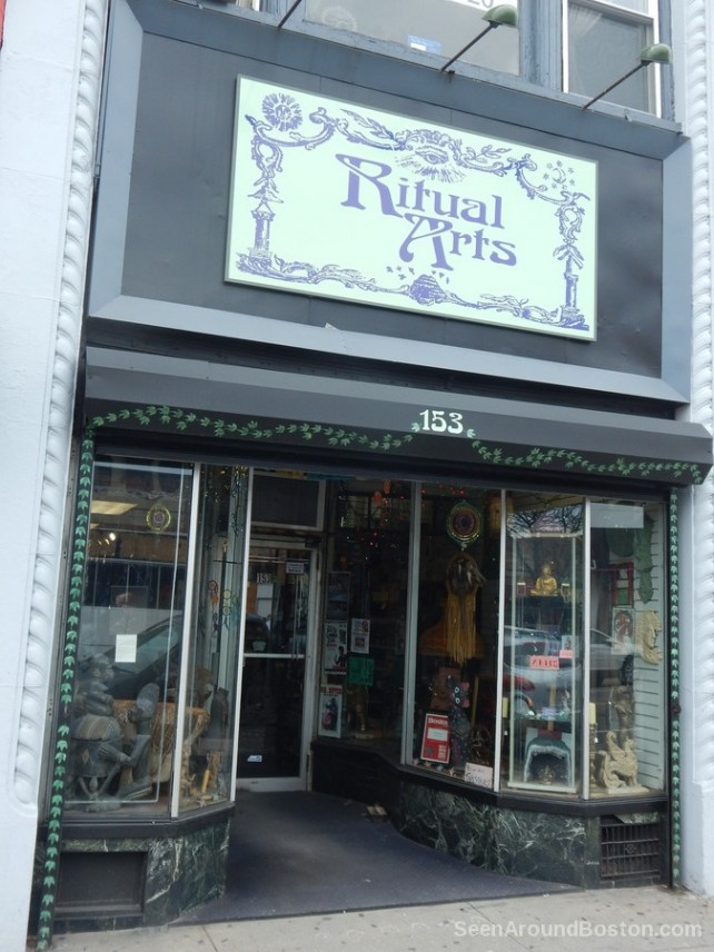 ritual arts store, allston massachusetts