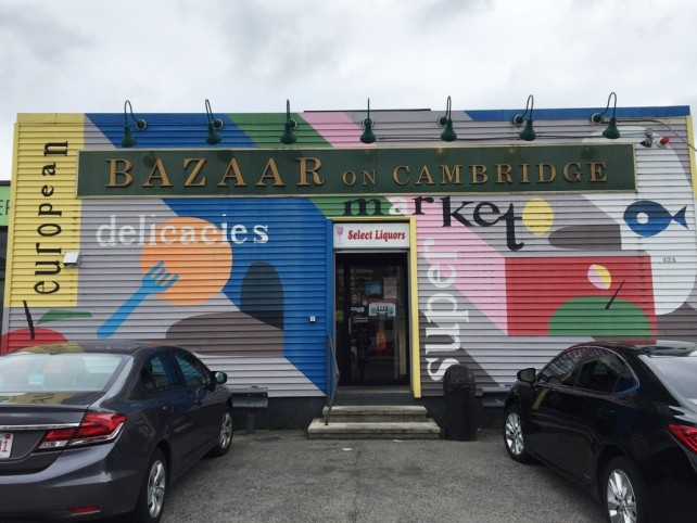 bazaar on cambridge market, allston massachusetts