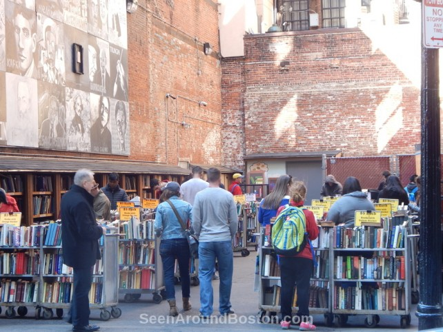 brattle book shop downtown boston