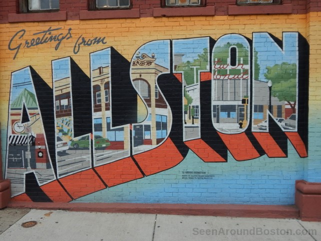 greetings from allston mural