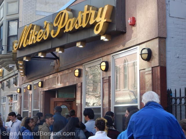 mikes pastry shop, north end boston