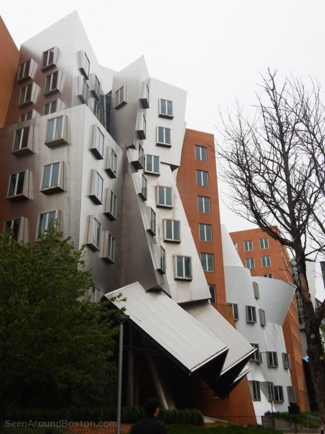 mit stata center building side view