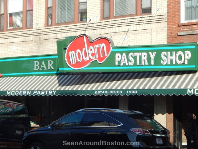 modern pastry shop north end boston