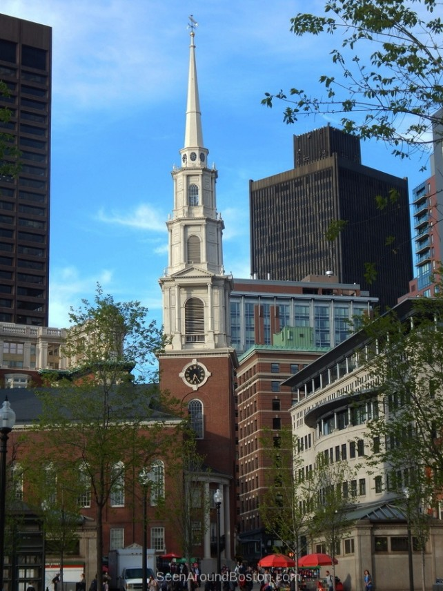 park street church, boston, massachusetts