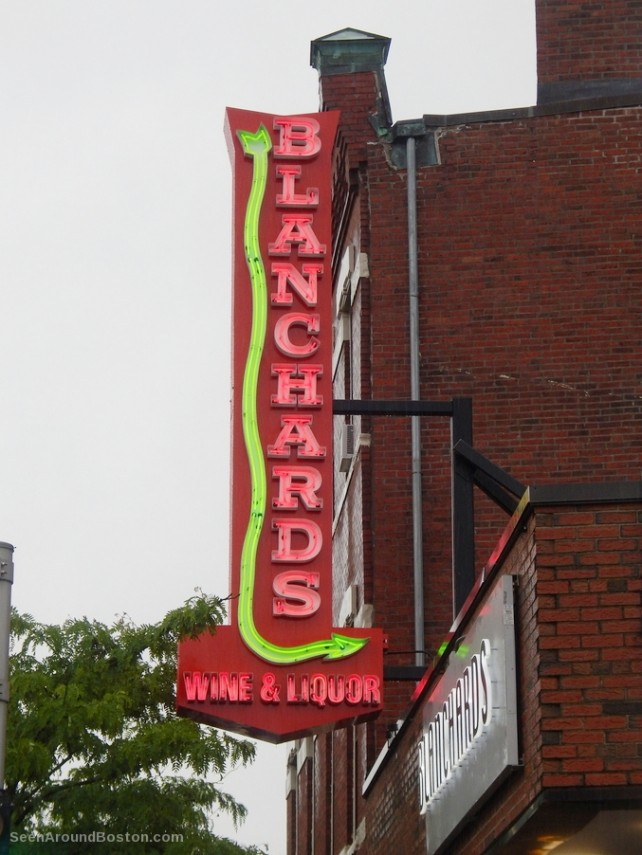 blanchards vintage neon sign, jamaica plain boston