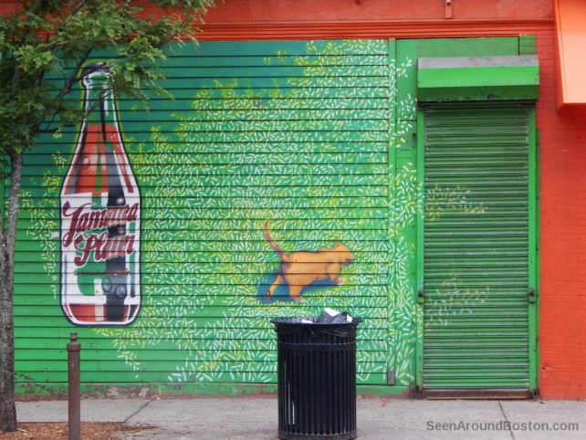 jamaica plain cola mural, boston ma