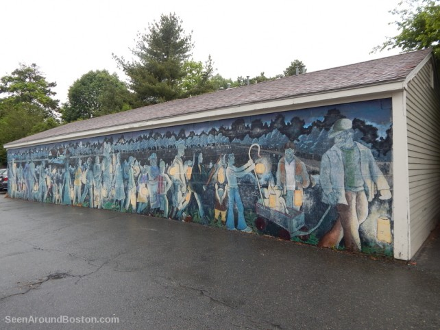 lantern parade mural, jamaica plain boston