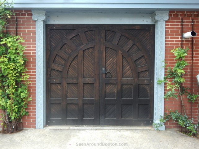 medieval style garage door cambridge
