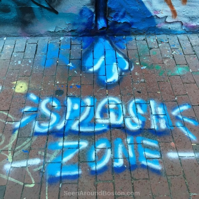 splash zone in modica way, graffiti alley cambridge