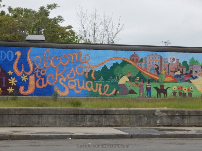 Welcome To Jackson Square Mural, Boston
