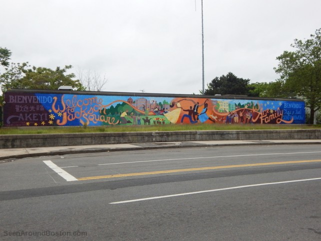jackson square welcome mural, jamaica plain